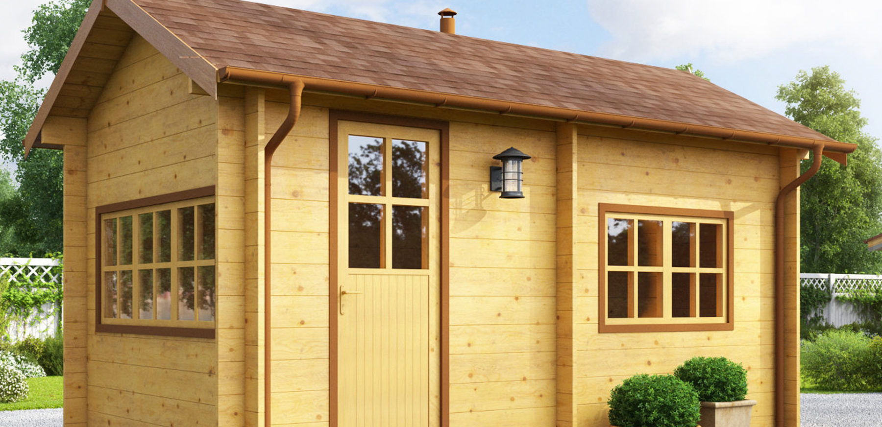 Modular sauna - Estonian Log Cabins